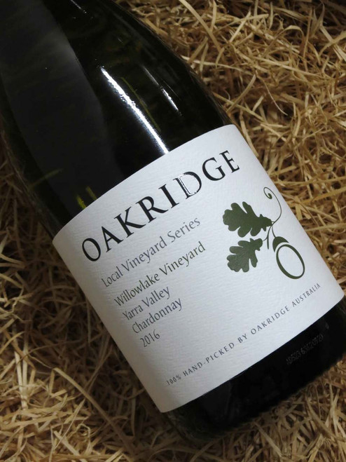 [SOLD-OUT] Oakridge Local Vineyard Series Willowlake Chardonnay 2016