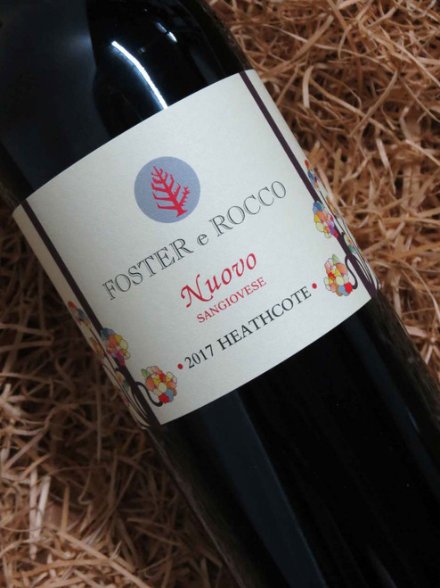 [SOLD-OUT] Foster e Rocco Sangiovese Nuovo 2017