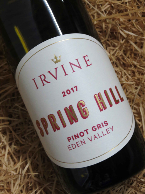 [SOLD-OUT] Irvine Springhill Pinot Gris 2017