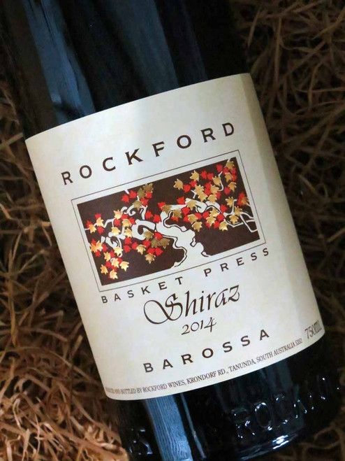 [SOLD-OUT] Rockford Basket Press Shiraz 2014