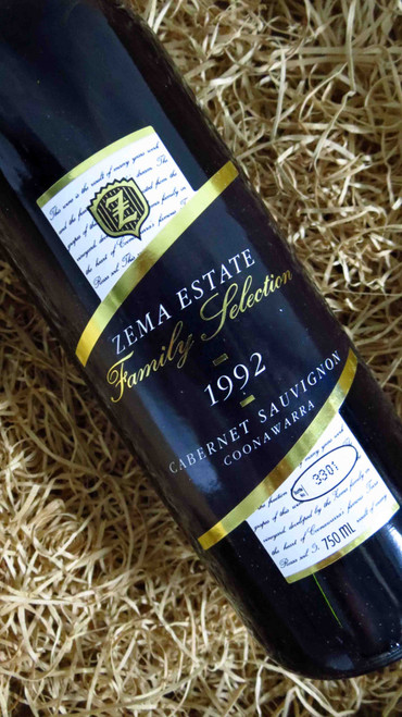 [SOLD-OUT] Zema Estate Family Selection Cabernet Sauvignon 1992