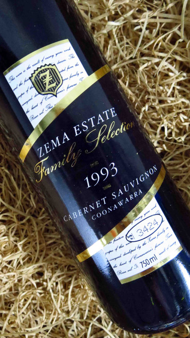 [SOLD-OUT] Zema Estate Family Selection Cabernet Sauvignon 1993