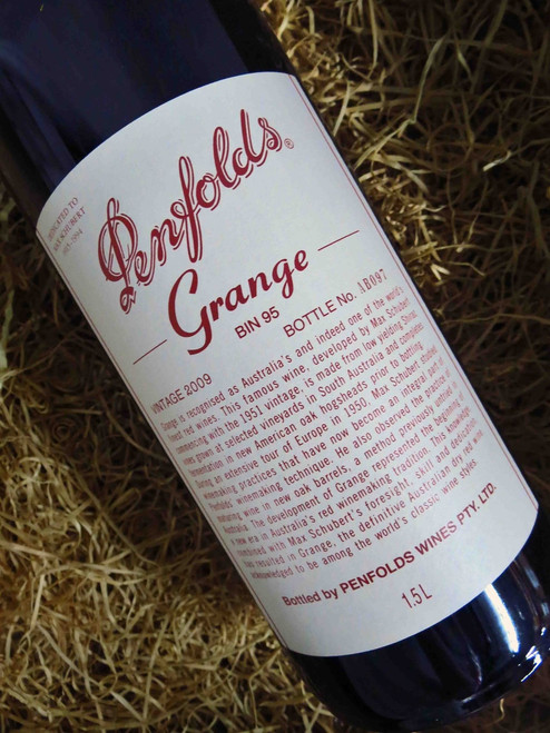 [SOLD-OUT] Penfolds Grange 2009 1500mL-Magnum