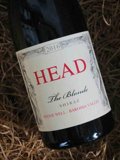 Head Wines The Blonde Shiraz 2016