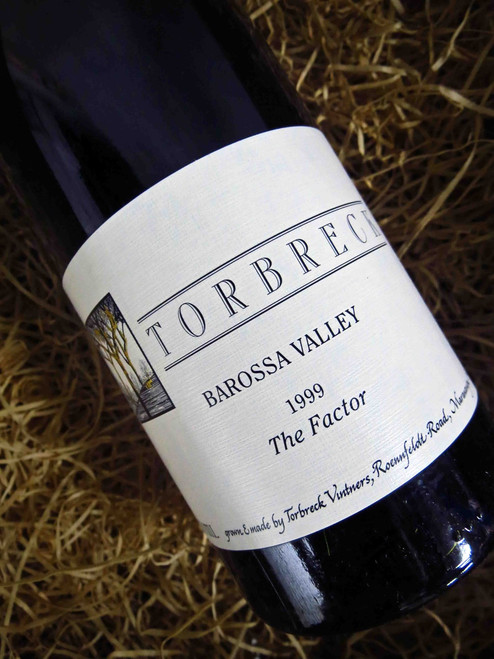 [SOLD-OUT] Torbreck The Factor Shiraz 1999