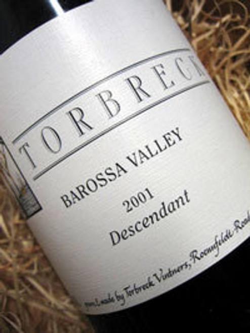 Torbreck Descendant Shiraz Viognier 2000