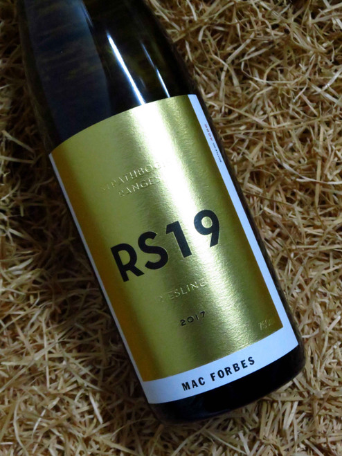 [SOLD-OUT] Mac Forbes RS19 Riesling 2017