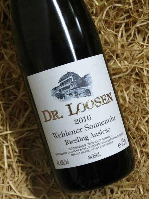 [SOLD-OUT] Dr Loosen Wehlener Sonnenuhr Riesling Auslese 2016 375mL-Half-Bottle