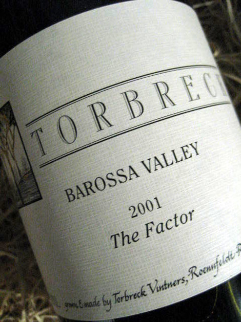 [SOLD-OUT] Torbreck The Factor Shiraz 2001