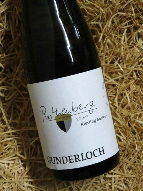 [SOLD-OUT] Gunderloch Rothenberg Riesling Auslese 2016 375mL-Half-Bottle
