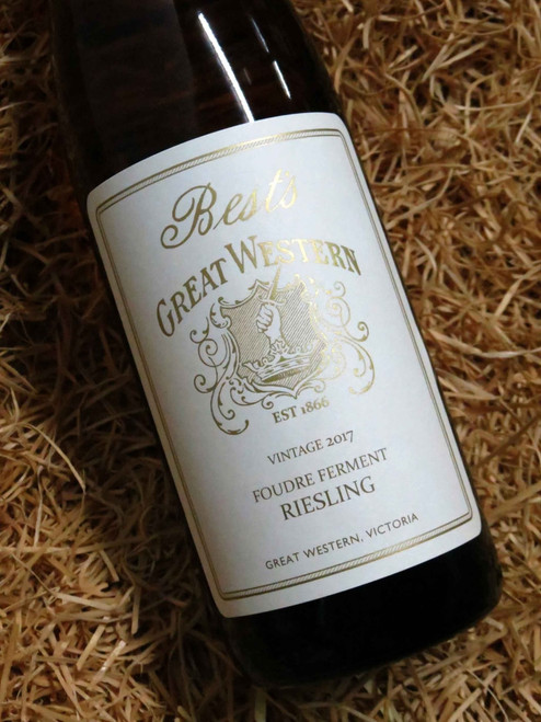 [SOLD-OUT] Best's Foudre Ferment Riesling 2017