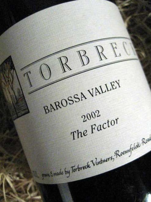 Torbreck The Factor Shiraz 2002