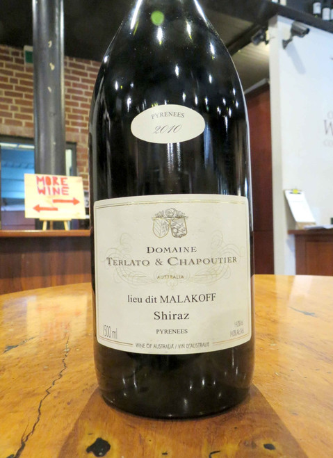 [SOLD-OUT] Terlato Chapoutier Malakoff Shiraz 2010 1500mL-Magnum