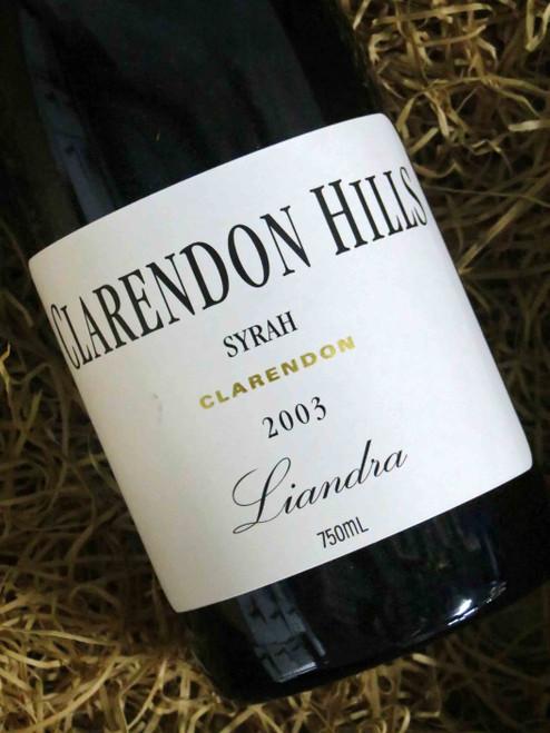 [SOLD-OUT] Clarendon Hills Liandra Shiraz 2003