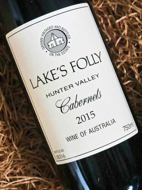 [SOLD-OUT] Lake's Folly White Label Cabernets 2015
