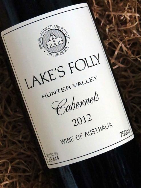 Lake's Folly White Label Cabernets 2012