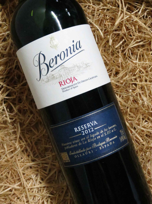 Beronia Reserva Rioja 2012