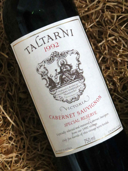 [SOLD-OUT] Taltarni Special Reserve Cabernet 1992