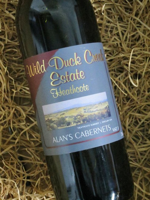 [SOLD-OUT] Wild Duck Creek Alan's Cabernet Sauvignon 2005 VAT 1