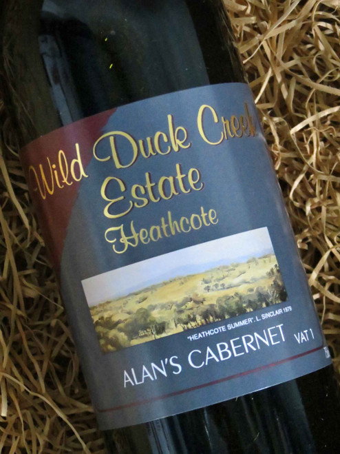 [SOLD-OUT] Wild Duck Creek Alan's Cabernet Sauvignon 2006 VAT 1