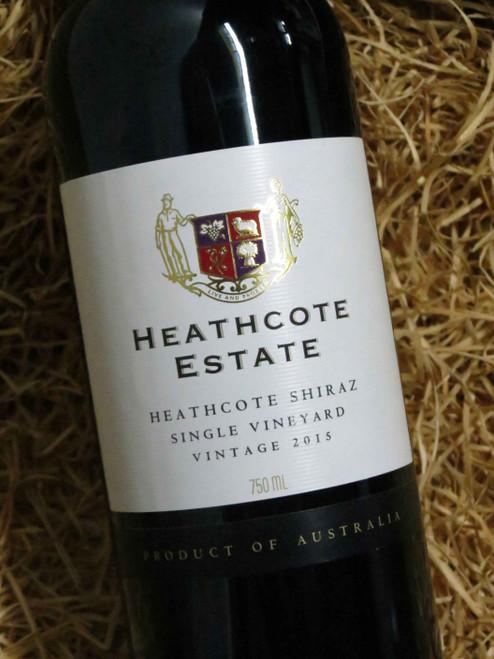 [SOLD-OUT] Heathcote Estate Shiraz 2015