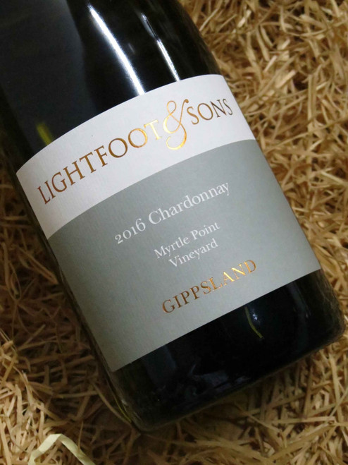 [SOLD-OUT] Lightfoot & Sons Myrtle Point Chardonnay 2016