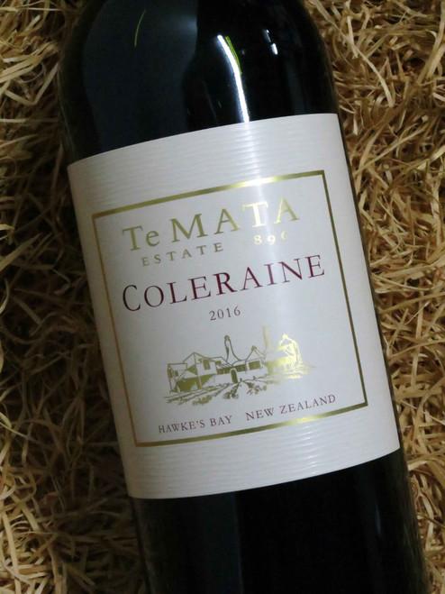 [SOLD-OUT] Te Mata Coleraine Cabernet Merlot 2016