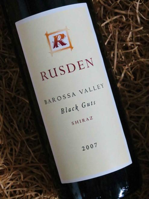 [SOLD-OUT] Rusden Black Guts Shiraz 2007