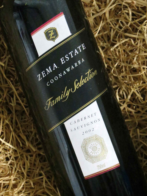 [SOLD-OUT] Zema Estate Family Selection Cabernet Sauvignon 2002