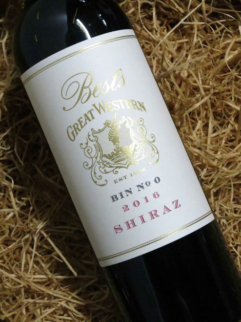 Best's Great Western Bin 0 Shiraz 2016