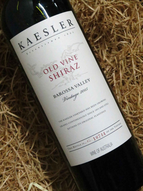 [SOLD-OUT] Kaesler Old Vine Shiraz 2015