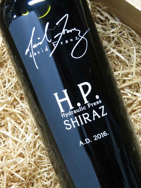 [SOLD-OUT] David Franz HP Shiraz 2016