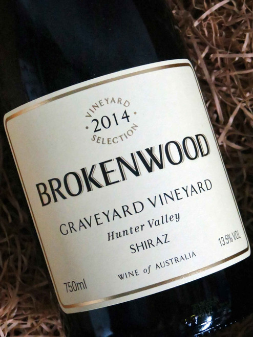[SOLD-OUT] Brokenwood Graveyard Shiraz 2014