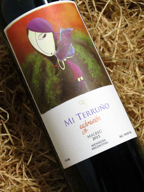 [SOLD-OUT] Mi Terruno Expression Malbec 2015