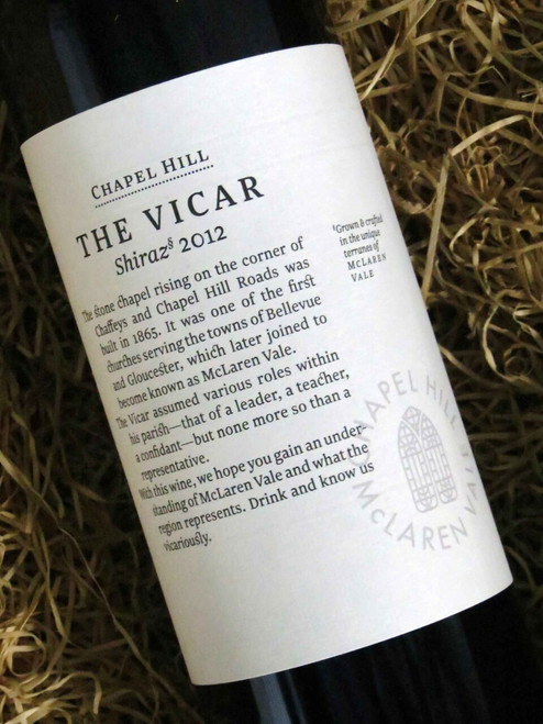 [SOLD-OUT] Chapel Hill The Vicar 2012