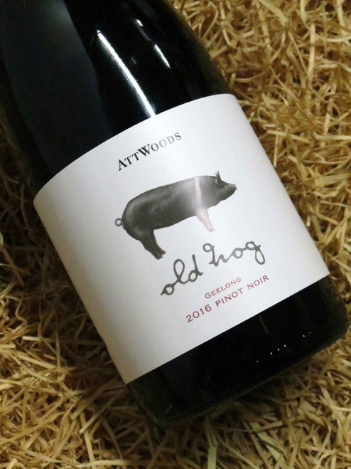 [SOLD-OUT] Attwoods Old Hog Geelong Pinot Noir 2016