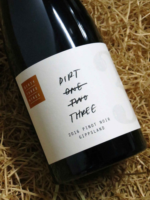 [SOLD-OUT] Dirty Three Wines 'Dirt 3' Pinot Noir 2016