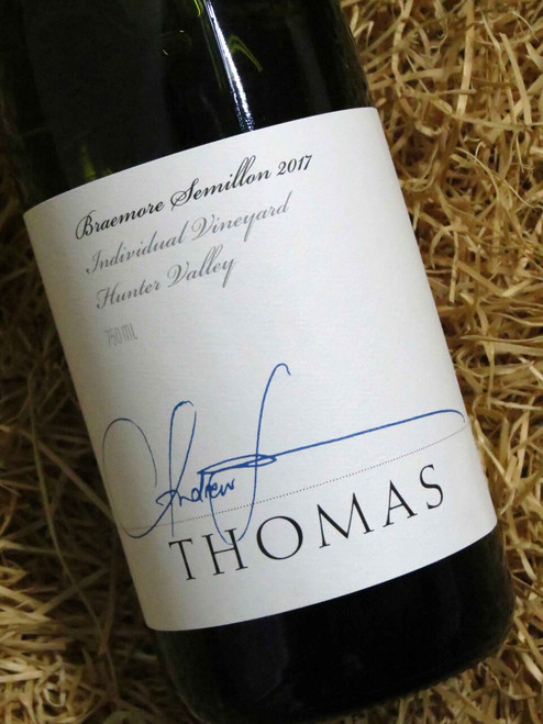 [SOLD-OUT] Thomas Braemore Semillon 2017