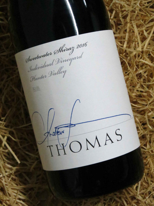 [SOLD-OUT] Thomas Sweetwater Shiraz 2016