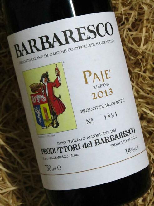 [SOLD-OUT] Produttori del Barbaresco Paje Riserva 2013