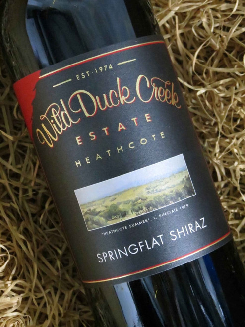[SOLD-OUT] Wild Duck Creek Springflat Shiraz 2016