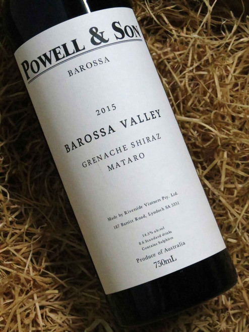 [SOLD-OUT] Powell & Son Grenache Shiraz Mourvedre 2015