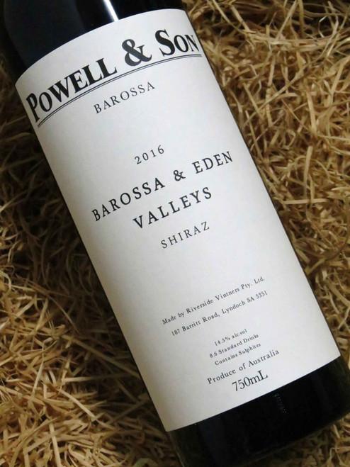 [SOLD-OUT] Powell & Son Barossa & Eden Shiraz 2016