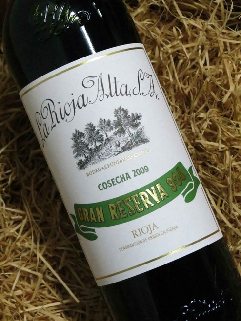 [SOLD-OUT] La Rioja Alta Gran Reserva '904' 2009