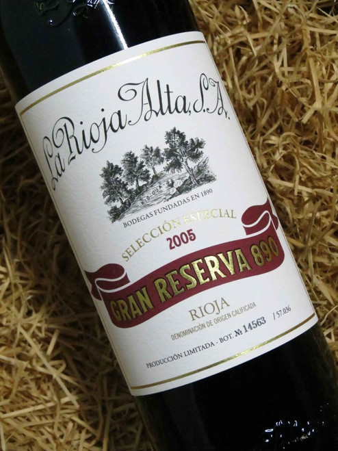 [SOLD-OUT] La Rioja Alta Gran Reserva '890' 2005