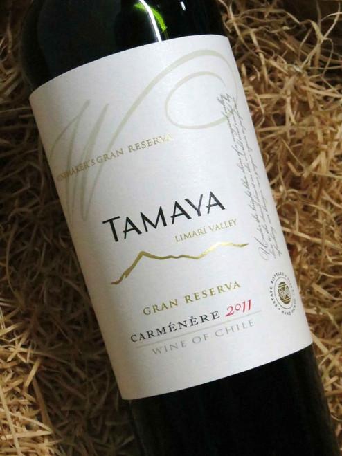 [SOLD-OUT] Tamaya Reserva Carmenere 2011