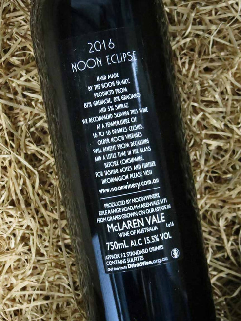 [SOLD-OUT] Noon Winery Eclipse Grenache Shiraz 2016