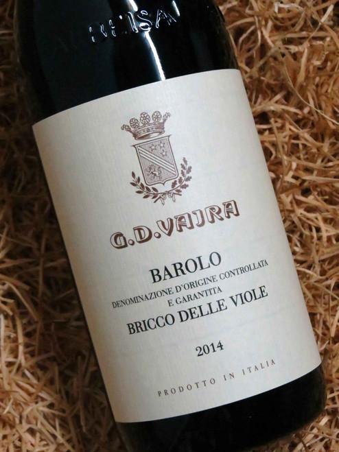[SOLD-OUT] G.D. Vajra Barolo Bricco Delle Viole 2014 DOCG