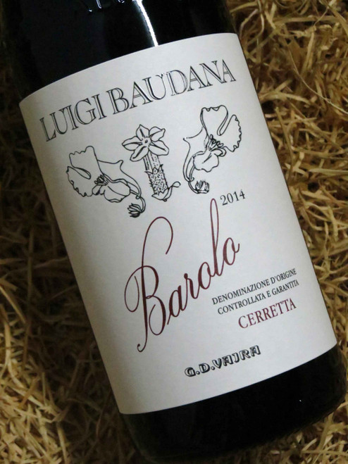 Luigi Baudana Barolo Cerretta 2014 DOCG