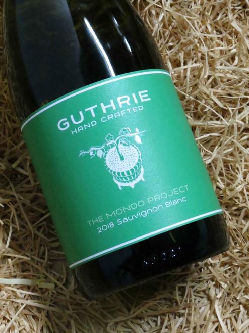 Guthrie Mondo Project Sauvignon Blanc 2018